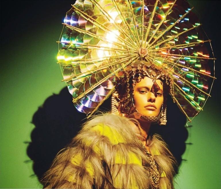 Amanda Murphy in 'Créature' By Greg Kadel For Numéro 155 18