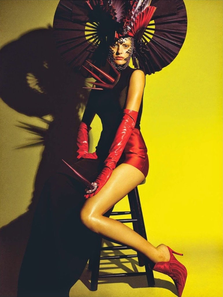 Amanda Murphy in 'Créature' By Greg Kadel For Numéro 155 26