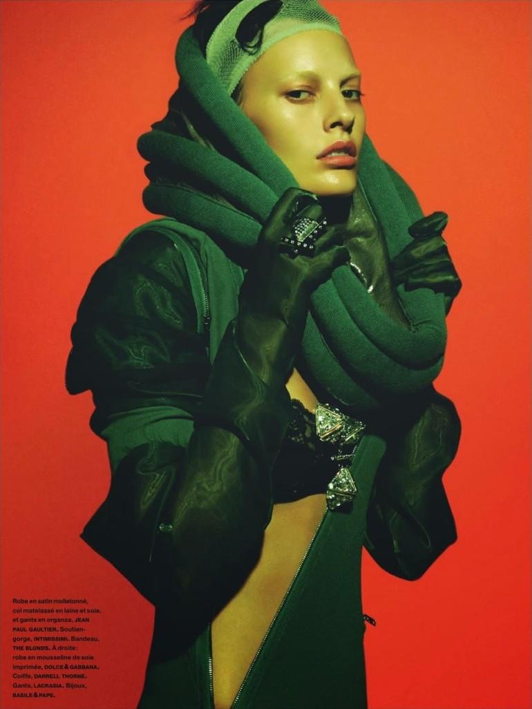 Amanda Murphy in 'Créature' By Greg Kadel For Numéro 155 29