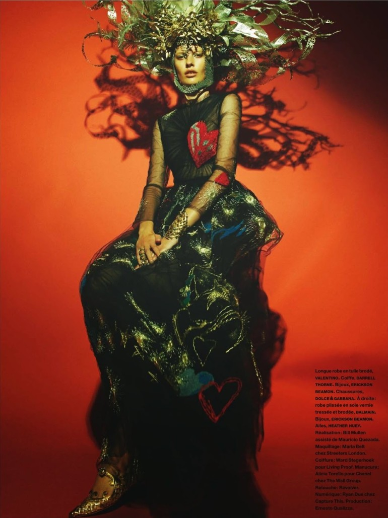 Amanda Murphy in 'Créature' By Greg Kadel For Numéro 155 31