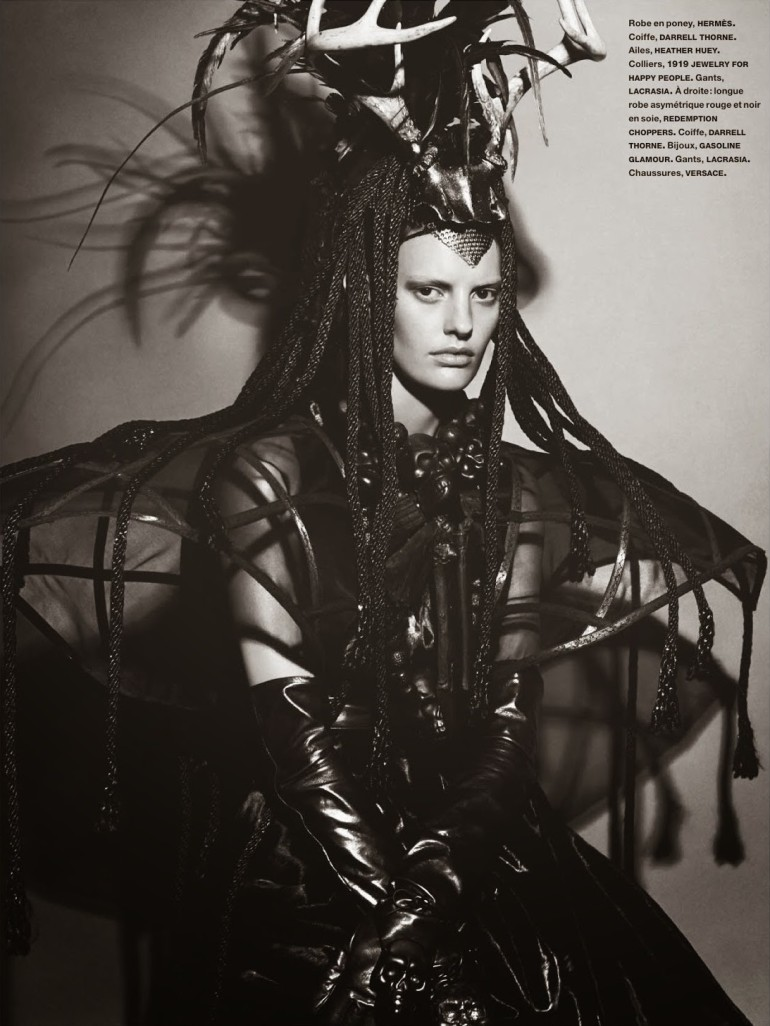Amanda Murphy in 'Créature' By Greg Kadel For Numéro 155 33