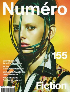 Amanda Murphy in 'Créature' By Greg Kadel For Numéro 155 cover