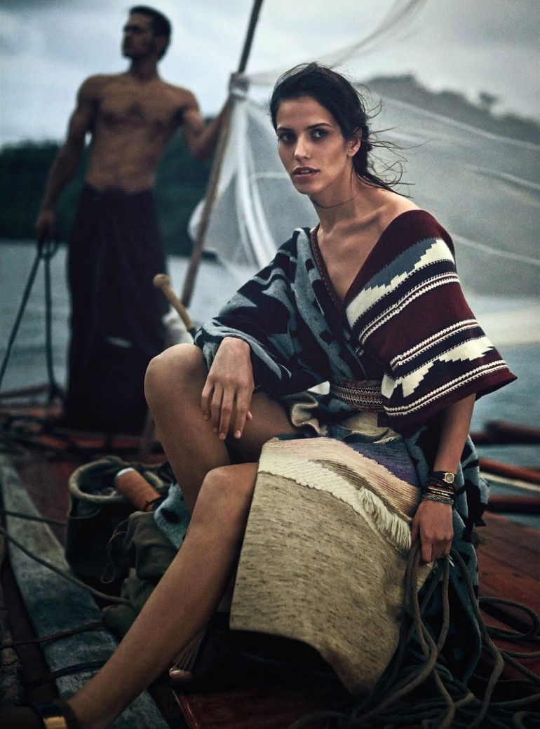 Amanda Wellsh By Will Davidson For Vogue Australia 2