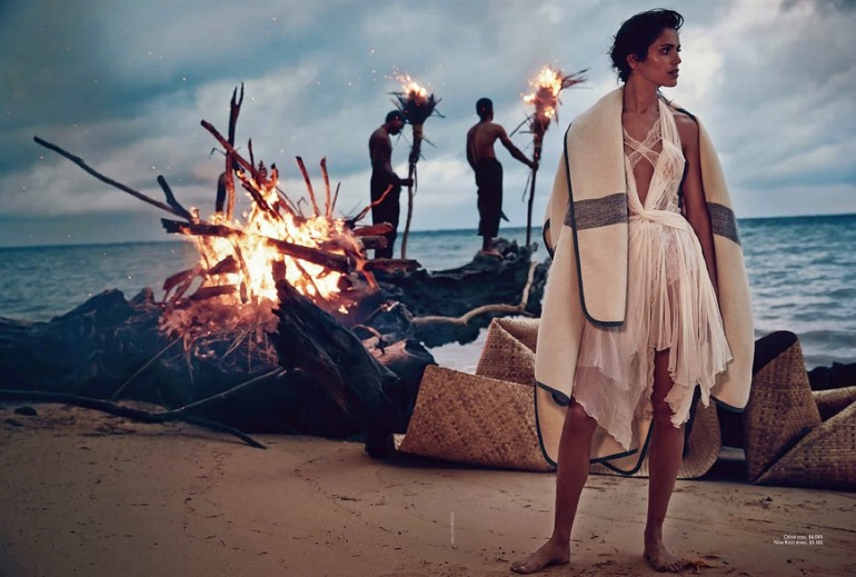 Amanda Wellsh in 'Wayfinder' By Will Davidson For Vogue Australia 01