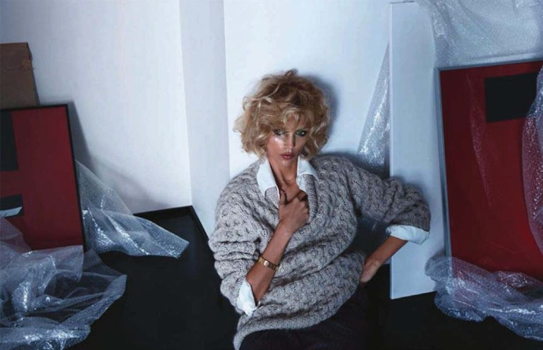 Anja Rubik 'Passion' by Camilla Akrans For Vogue Germany 4