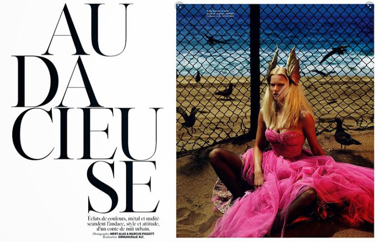 Anna Ewers by Mert & Marcus Vogue Paris 001