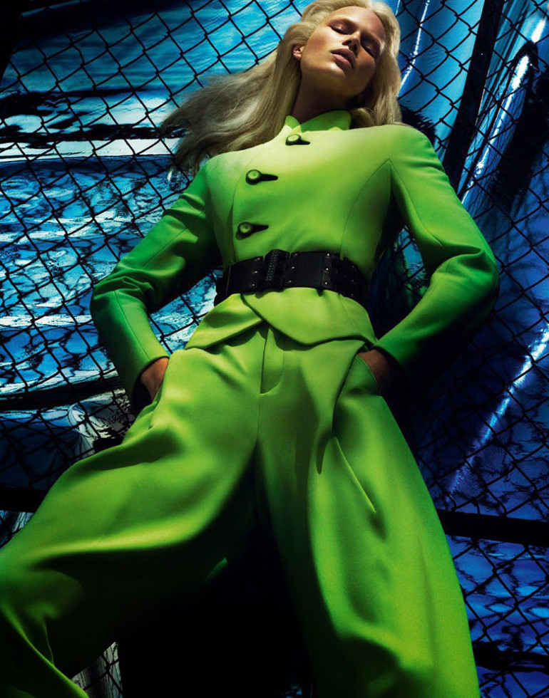Anna Ewers by Mert & Marcus Vogue Paris 1