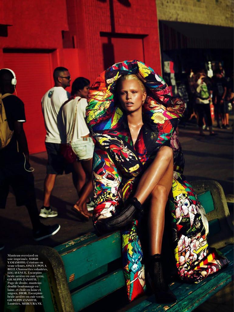 Anna Ewers by Mert & Marcus Vogue Paris 13