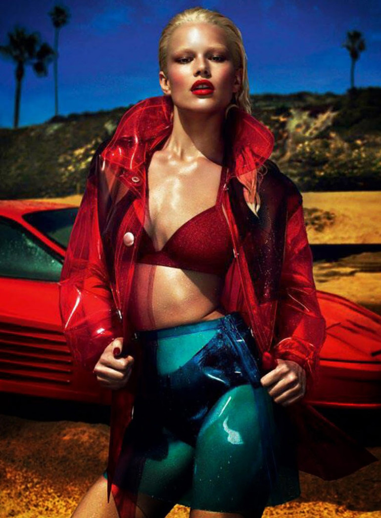 Anna Ewers by Mert & Marcus Vogue Paris 3