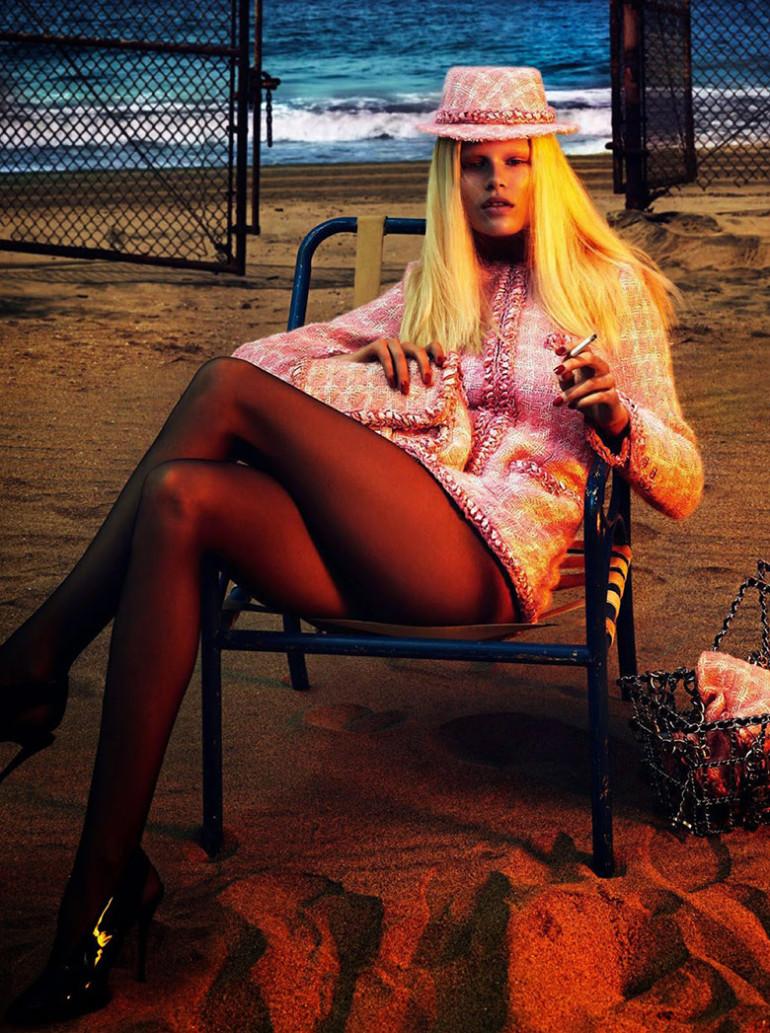 Anna Ewers by Mert & Marcus Vogue Paris 4