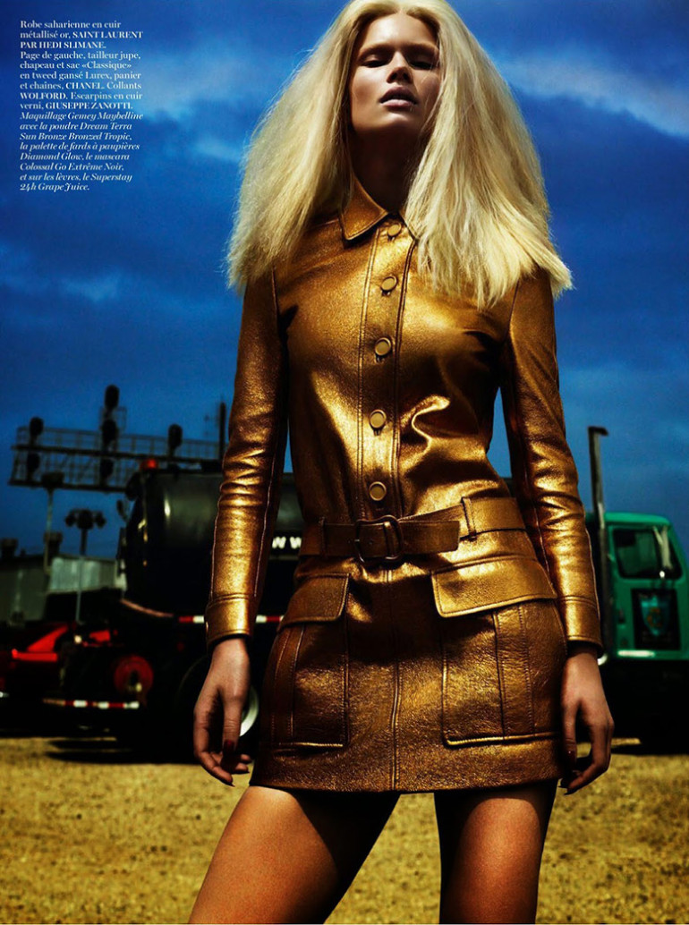 Anna Ewers by Mert & Marcus Vogue Paris 5