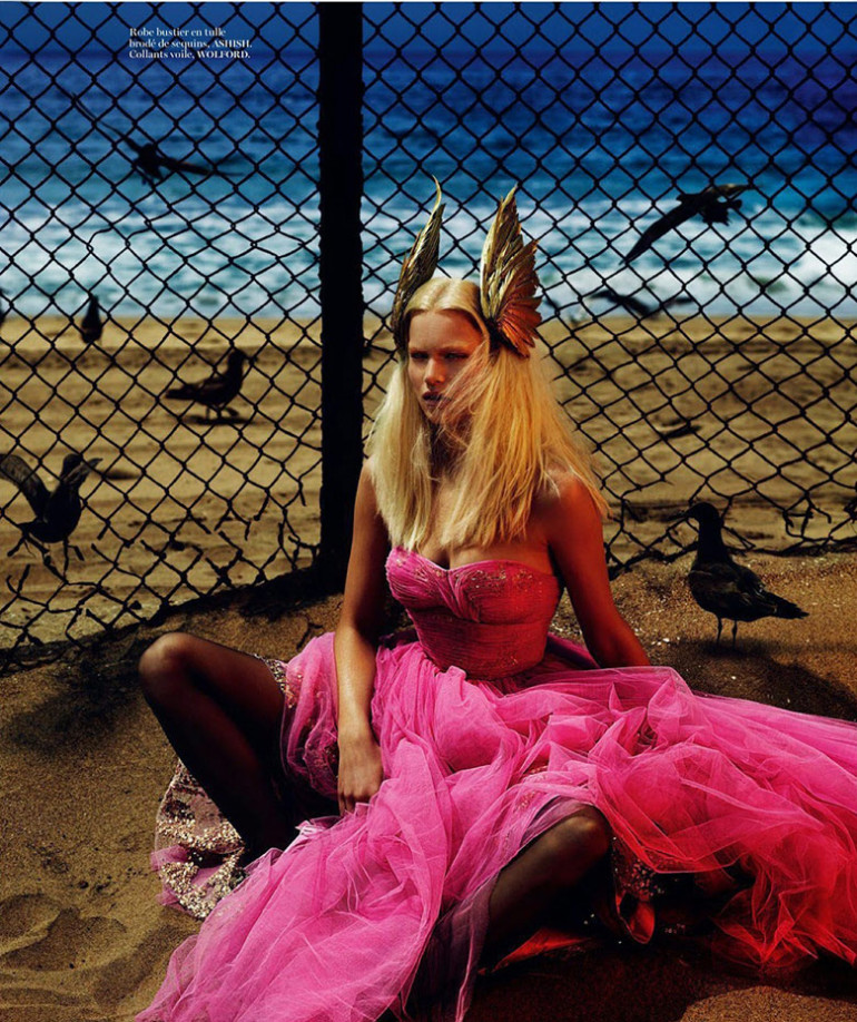 Anna Ewers by Mert & Marcus Vogue Paris