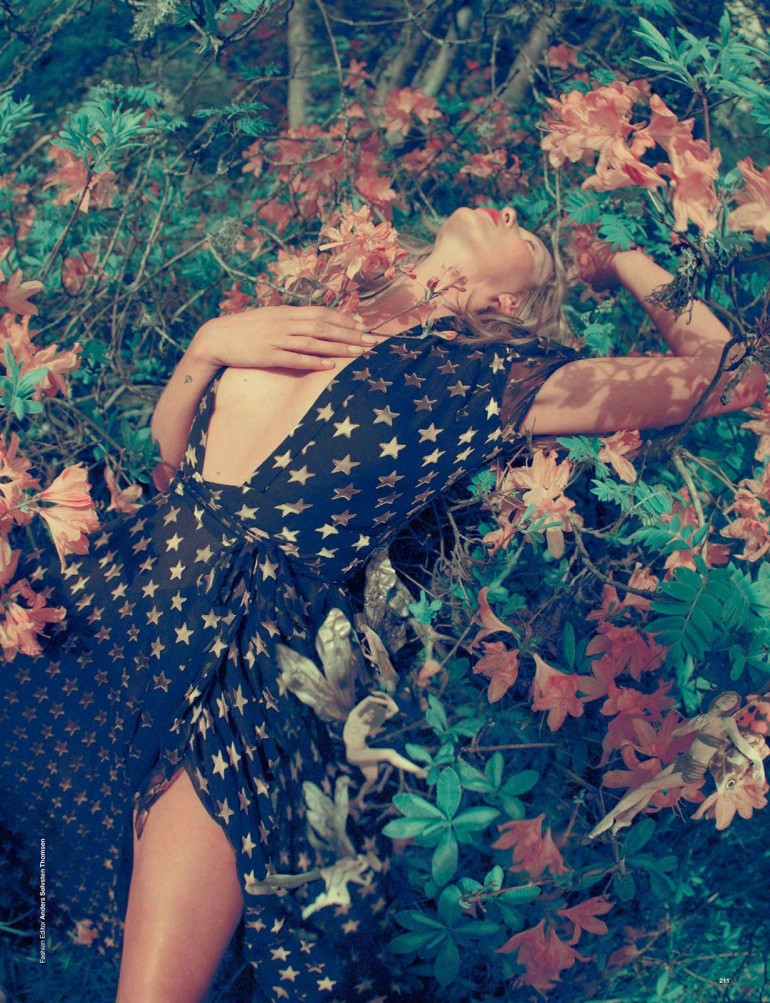 Edie Campbell & Kate Moss 'Wizard' by Tim Walker for Love 10