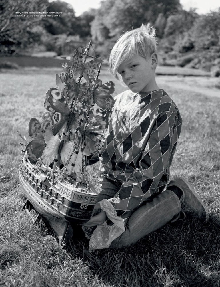 Edie Campbell & Kate Moss 'Wizard' by Tim Walker for Love 111