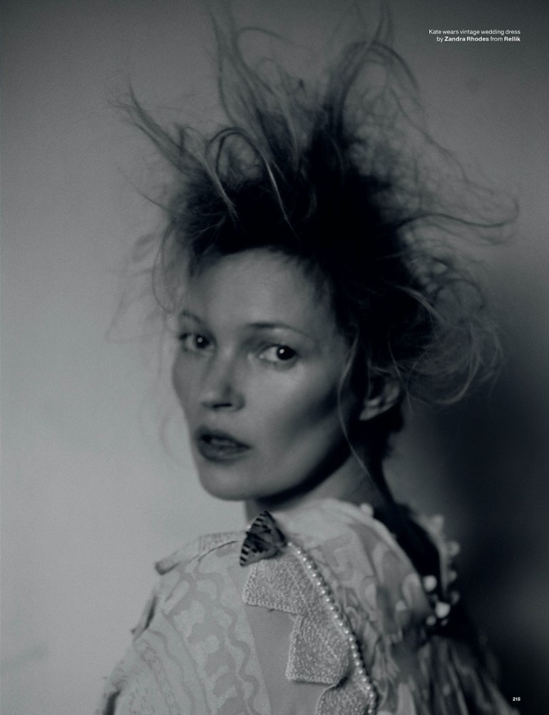 Edie Campbell & Kate Moss 'Wizard' by Tim Walker for Love 14