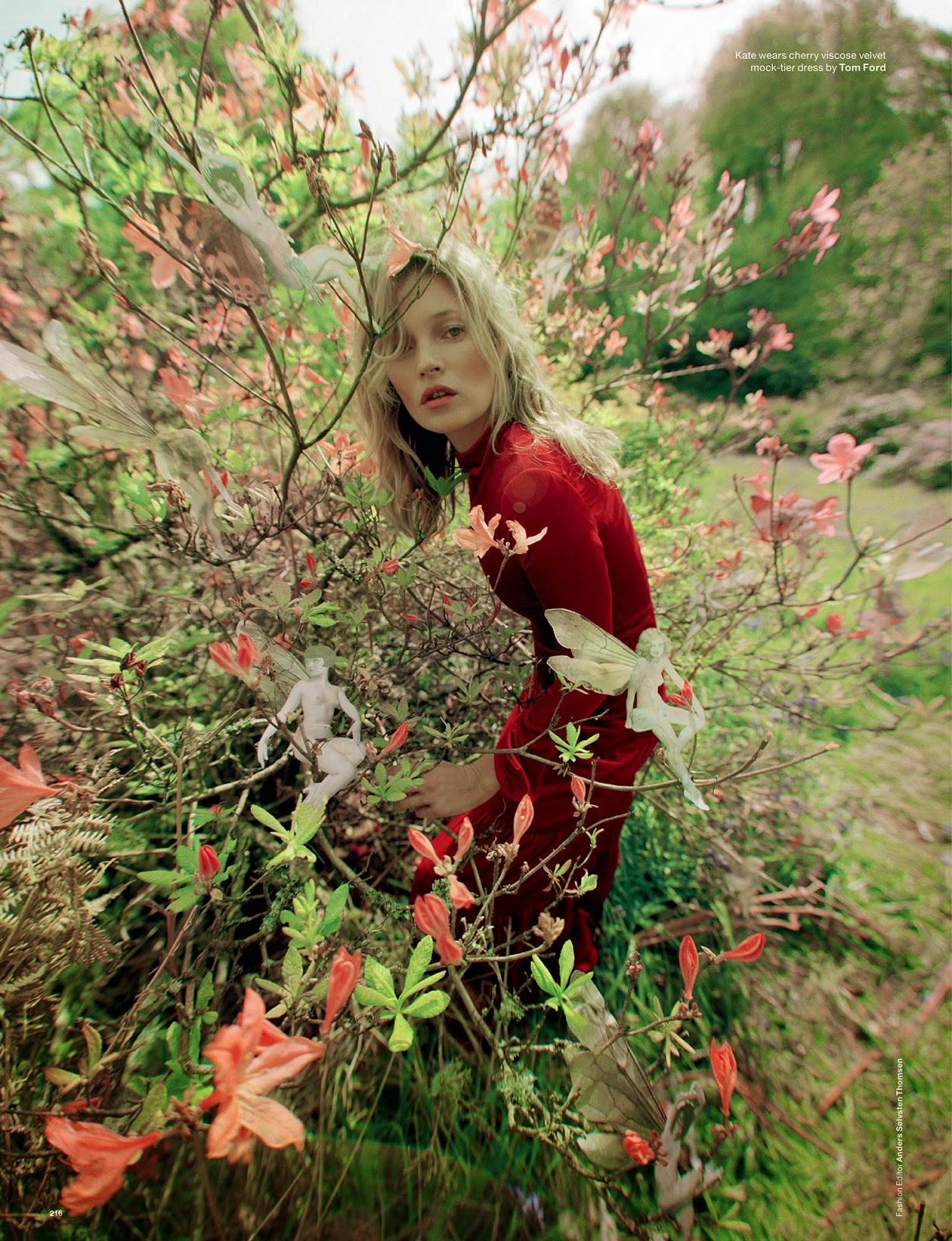 Kate Moss Amp Edie Campbell In Wizard By Tim Walker For