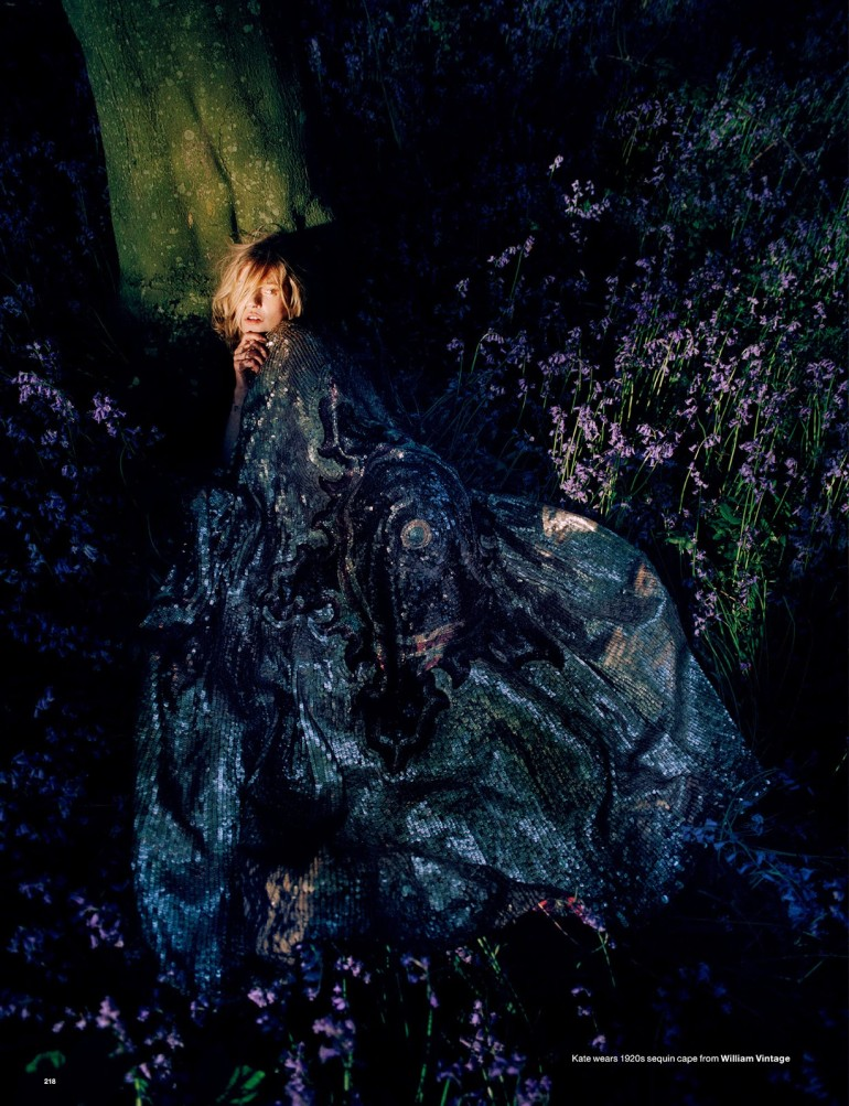 Edie Campbell & Kate Moss 'Wizard' by Tim Walker for Love 16