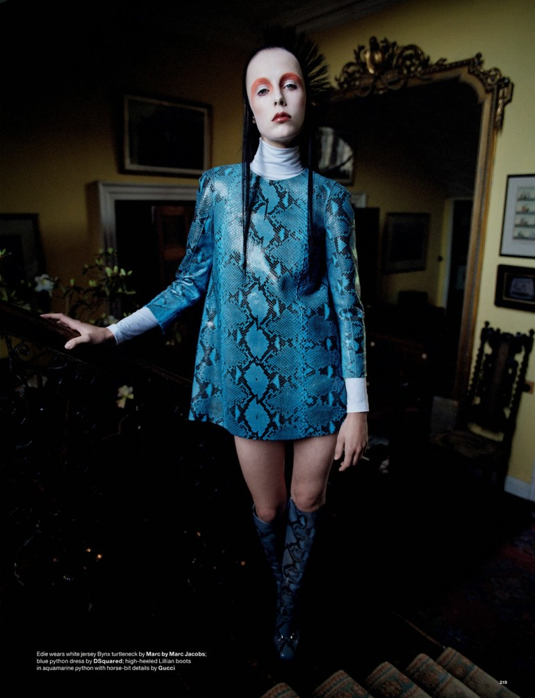 Edie Campbell & Kate Moss 'Wizard' by Tim Walker for Love 18