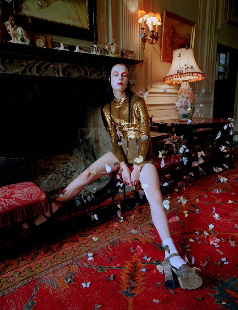 Edie Campbell & Kate Moss 'Wizard' by Tim Walker for Love 23