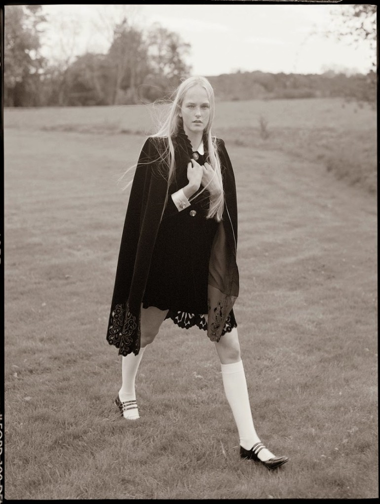 Edie Campbell & Kate Moss 'Wizard' by Tim Walker for Love 25