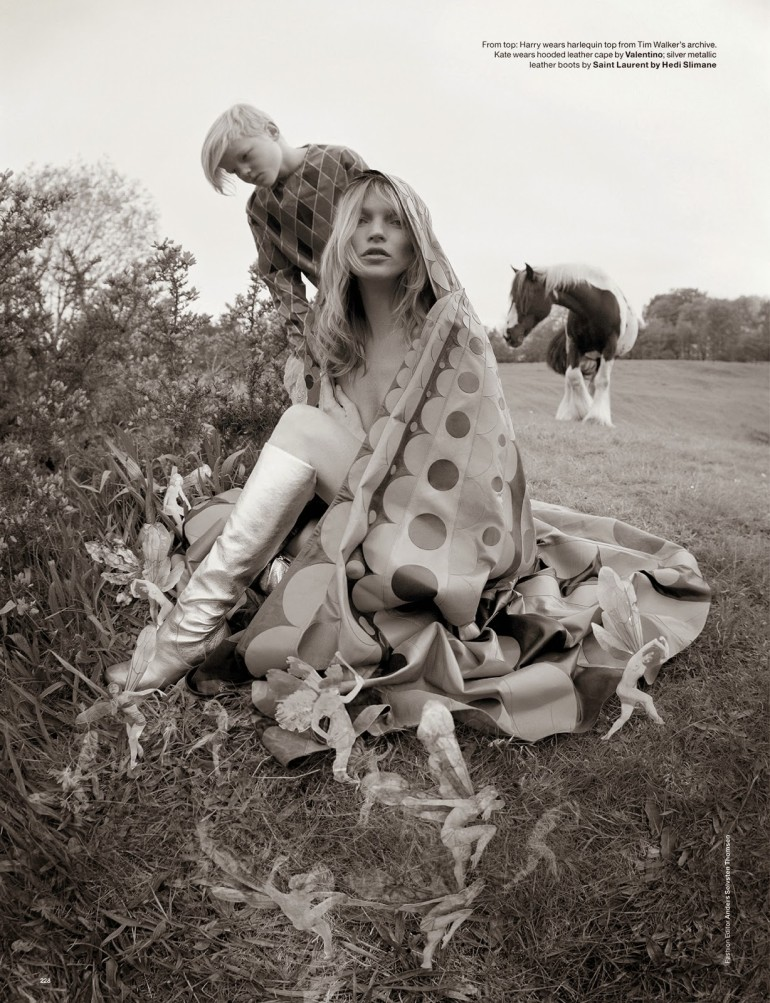 Edie Campbell & Kate Moss 'Wizard' by Tim Walker for Love 30