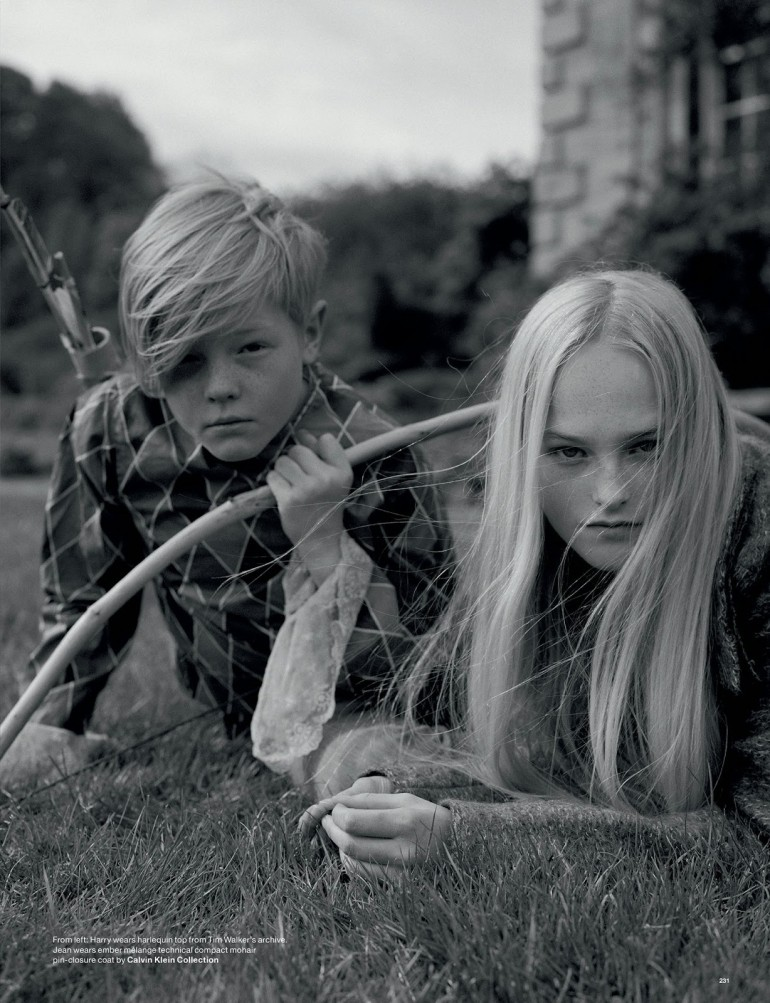 Edie Campbell & Kate Moss 'Wizard' by Tim Walker for Love 33