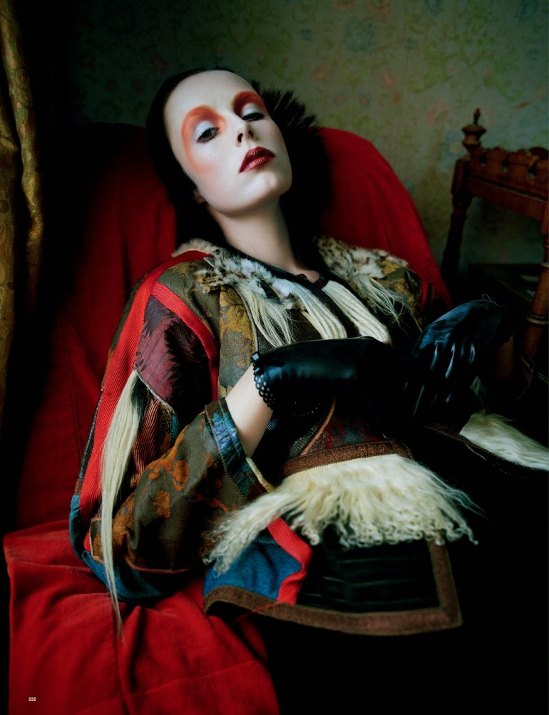 Edie Campbell & Kate Moss 'Wizard' by Tim Walker for Love 34