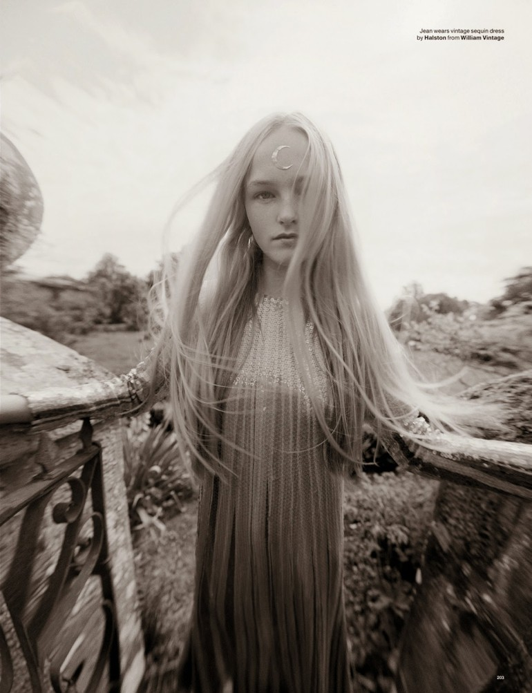 Edie Campbell & Kate Moss 'Wizard' by Tim Walker for Love