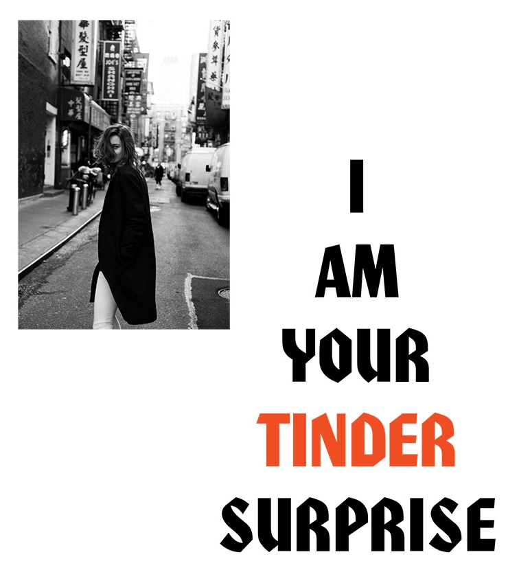 Jac Jagaciak 'I am Your Tinder Surprise' Joachim Johnson for Marfa Journal 1