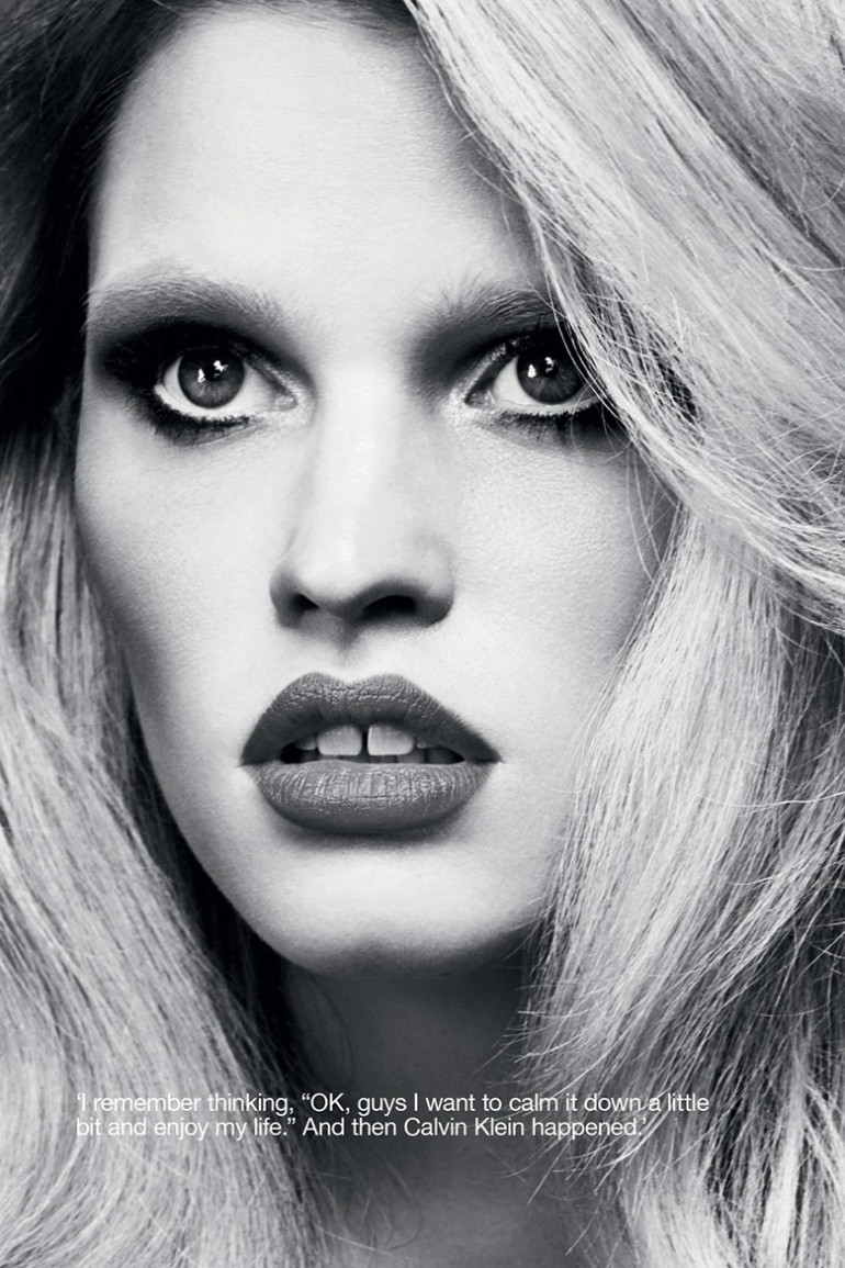 Lara Stone by Erik Torsensson for Industrie #7 15