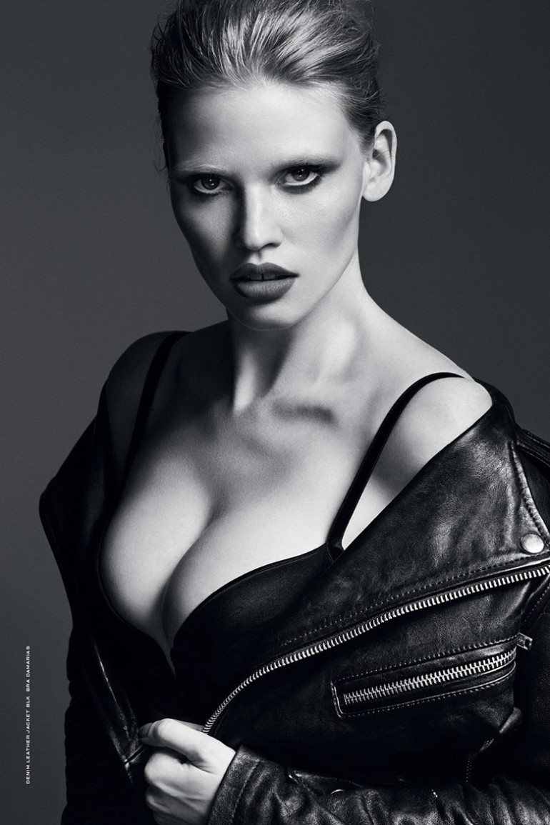Lara Stone by Erik Torsensson for Industrie #7 20