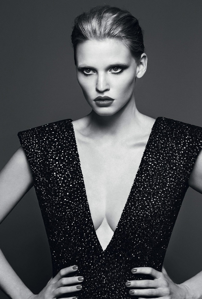 Lara Stone by Erik Torsensson for Industrie #7 9