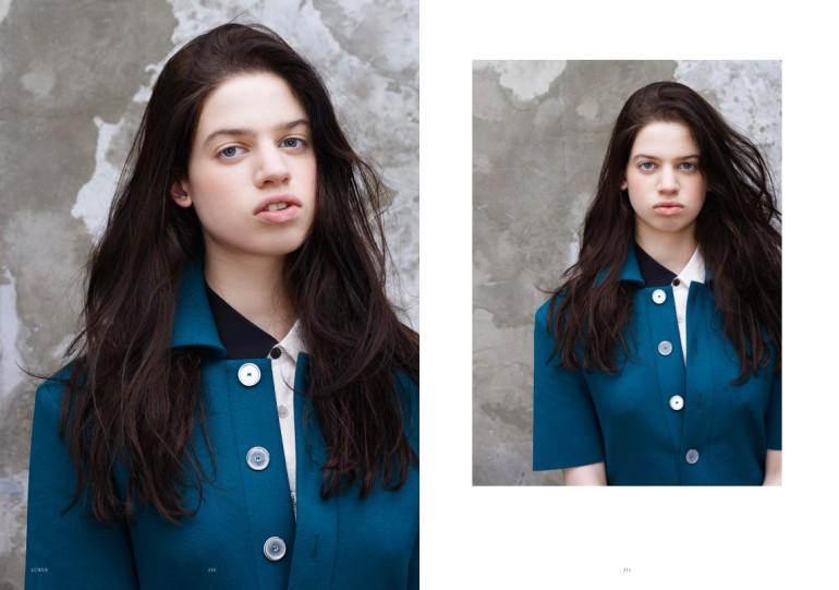 Lily McMenamy 'A Subtle Twist' by Sonia Sieff Lurve Magazine 14