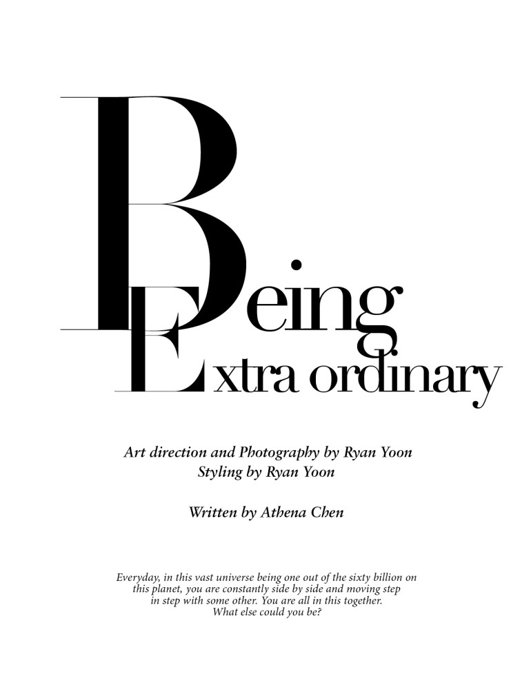 The Ground 'Being Extra Ordinary' by Ryan Yoon 1