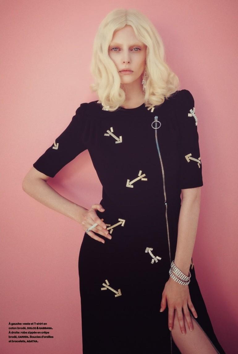 Auguste Abeliunaite 'Pink Flamingo' By Sofia Sanchez & Mauro Mongiello For Numéro #156 3