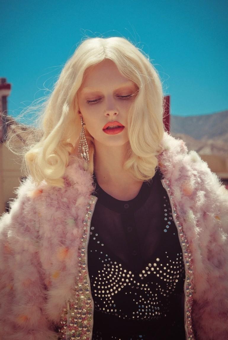 Auguste Abeliunaite 'Pink Flamingo' By Sofia Sanchez & Mauro Mongiello For Numéro #156 8