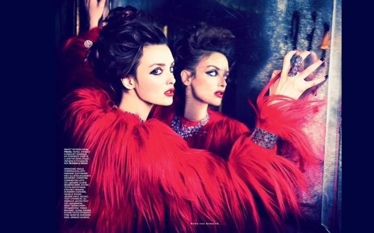 Charlotte-Lebon-by-Ellen-von-Unwerth-for-Vogue-Russia-August-2014-10