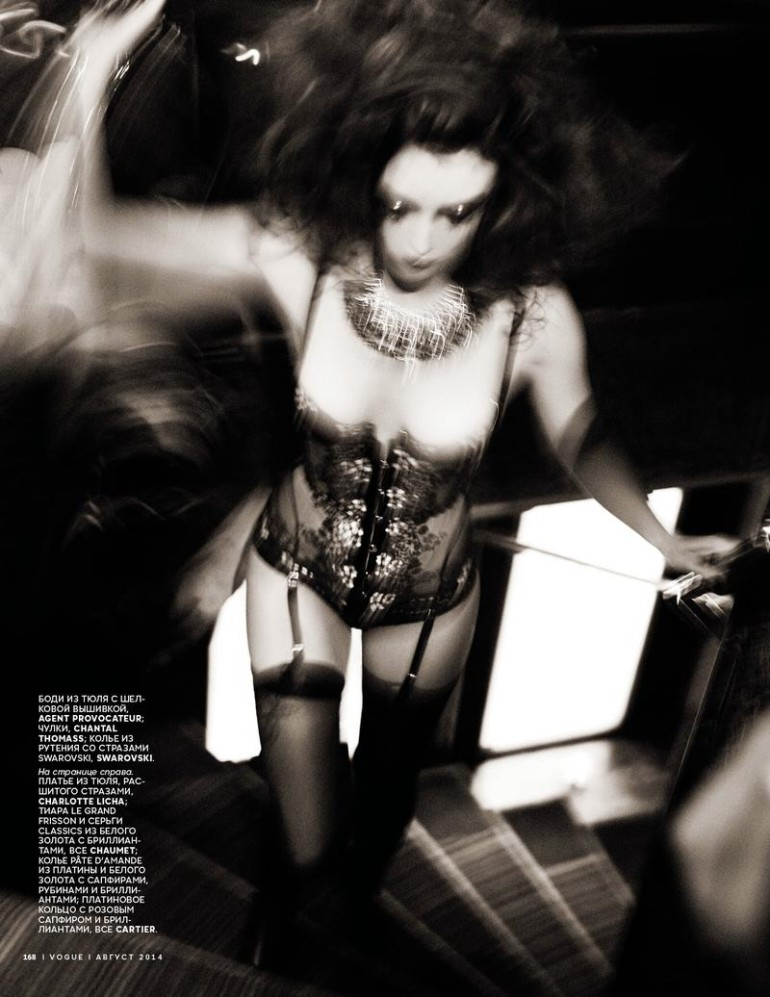 Charlotte-Lebon-by-Ellen-von-Unwerth-for-Vogue-Russia-August-2014-4