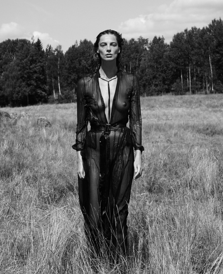 Daria Werbowy By Mikael Jansson For Interview September 2014 11