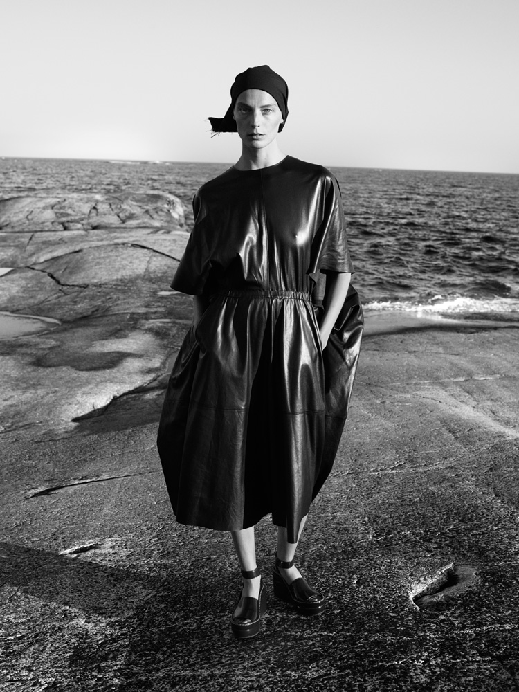 Daria Werbowy By Mikael Jansson For Interview September 20141