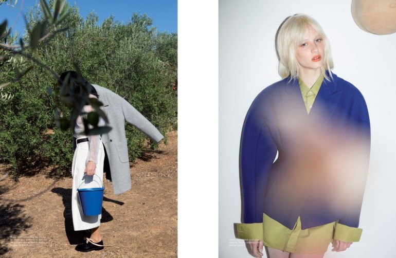 'Fashion' by Viviane Sassen for Pop Magazine A.W 2014 11