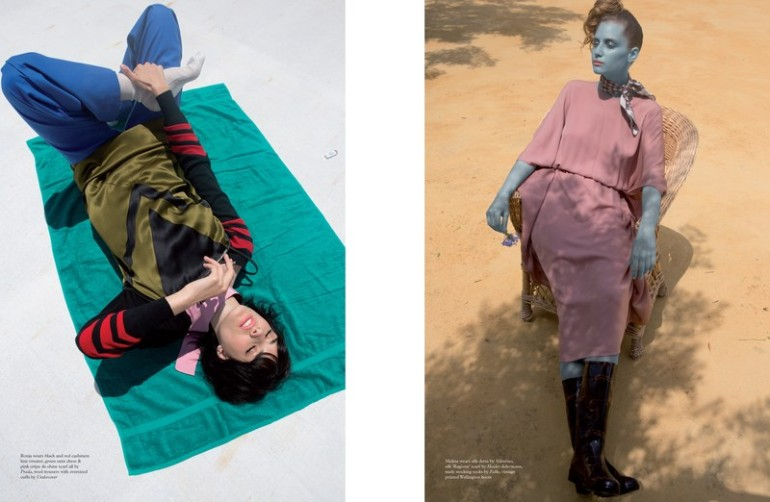 'Fashion' by Viviane Sassen for Pop Magazine A.W 2014 13