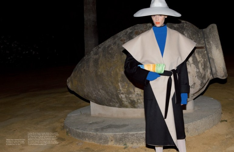 'Fashion' by Viviane Sassen for Pop Magazine A.W 2014 23
