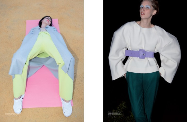 'Fashion' by Viviane Sassen for Pop Magazine A.W 2014 4