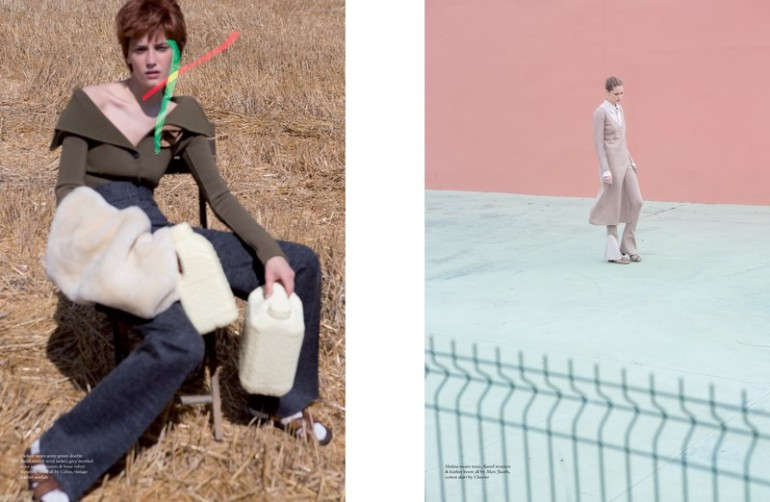 'Fashion' by Viviane Sassen for Pop Magazine A.W 2014 7