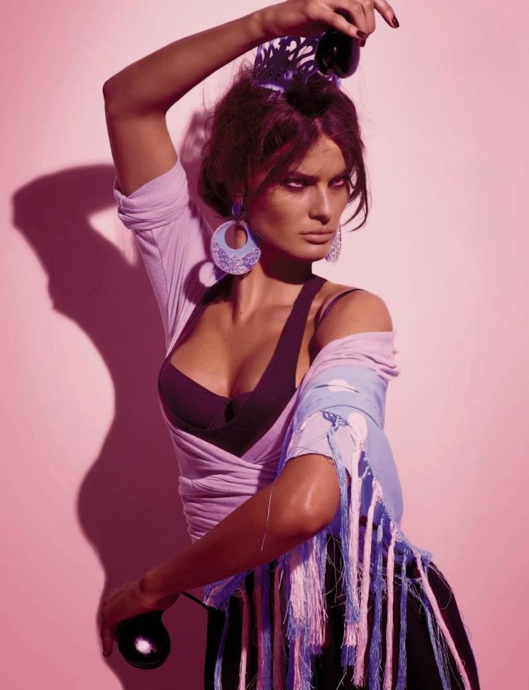 Isabeli Fontana 'Tentadora' By Steven Meisel For Vogue Italia 4