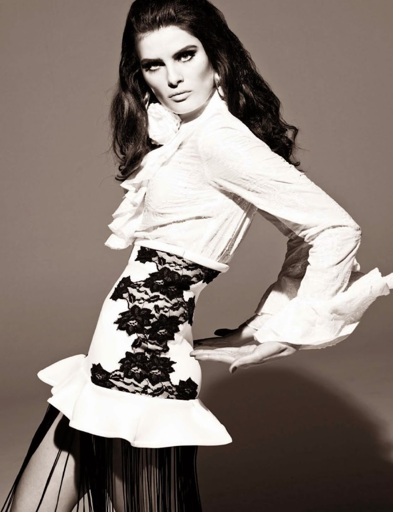 Isabeli Fontana 'Tentadora' By Steven Meisel For Vogue Italia 7