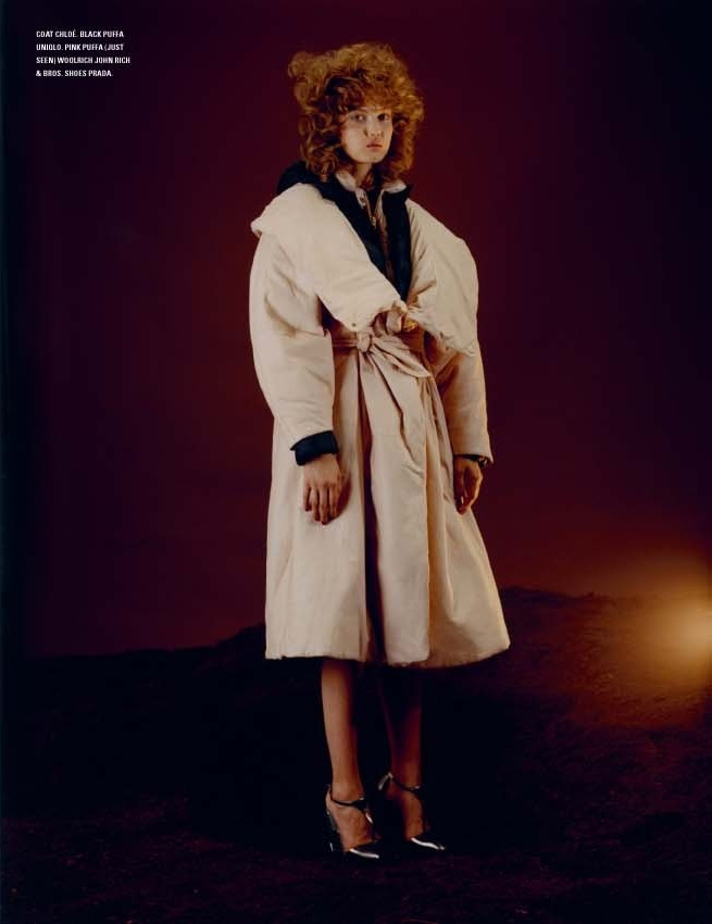 Lindsey Wixson By Harley Weir For I-D Pre-Fall 12