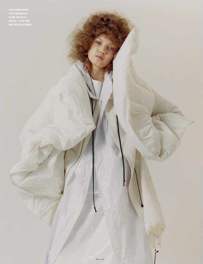 Lindsey Wixson By Harley Weir For I-D Pre-Fall 4