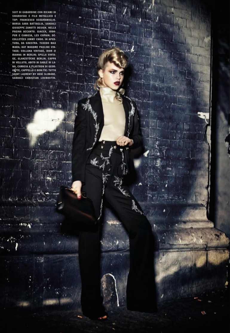 Line Brems 'An Unconventional Mood' Ellen Von Unwerth For Vogue Italia 2